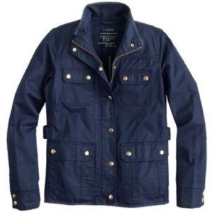 J. Crew downtown field jacket on Navy size PS